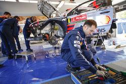 Teambereich Hyundai Motorsport