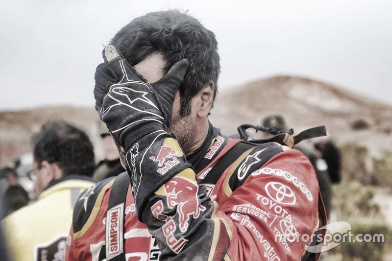 Nasser Al-Attiyah, Toyota Gazoo Racing na de crash