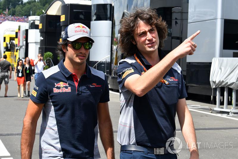 Карлос Сайнс-молодший, Scuderia Toro Rosso, Марко Матасса, інженер Scuderia Toro Rosso