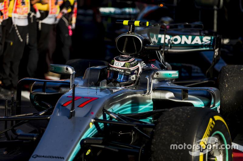 3 місце – Валттері Боттас, Mercedes