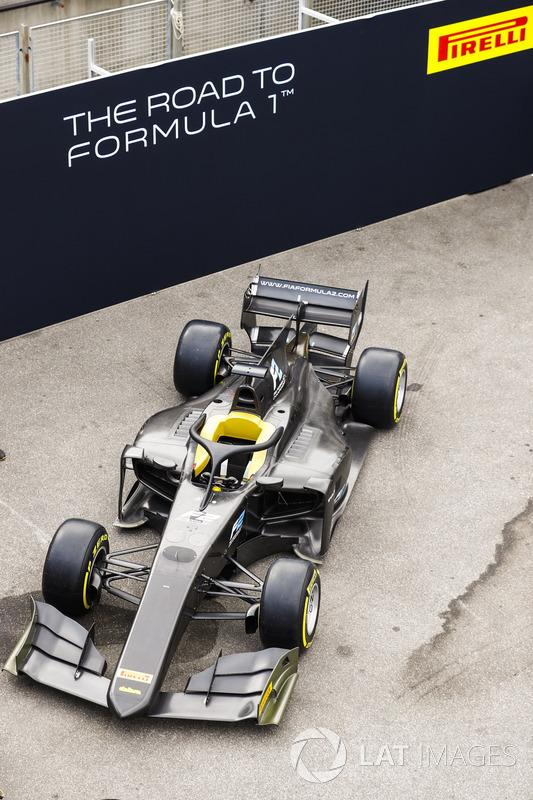 Nuevo auto 2018 de F2