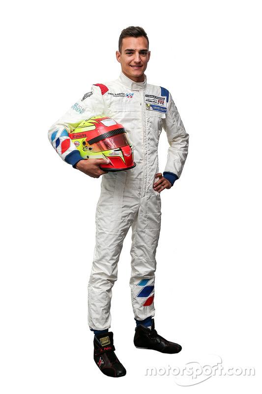 Алекс Палоу, Teo Martin Motorsport