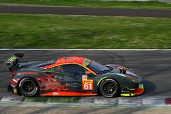 #61 Clearwater Racing Ferrari 488 GTE: Мок Вень Сунь, Мэтт Гриффин, Кеита Сава