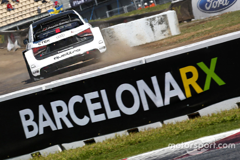 Rallycrosss-Action in Barcelona