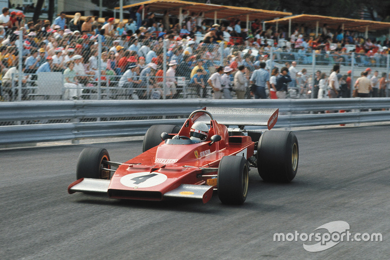 1973: Ferrari 312B3 (одно пятое место, 6-е место в КК)
