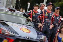 Hayden Paddon, Hyundai Motorsport, Thierry Neuville, Hyundai Motorsport, Dani Sordo, Hyundai Motorsport