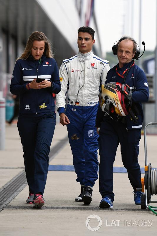 Паскаль Верляйн, Sauber , фізіотерапевт Sauber F1 Жозеф Леберер