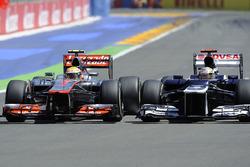 Lewis Hamilton, McLaren, Pastor Maldonado, Williams