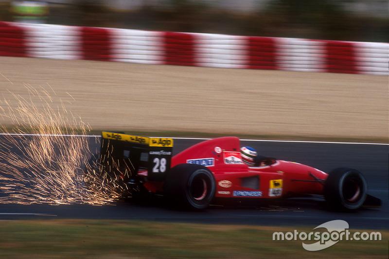 F1, Barcelona 1992: Ivan Capelli, Ferrari F92A