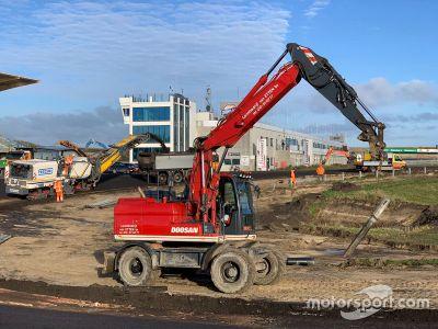 Rénovation du circuit de Zandvoort