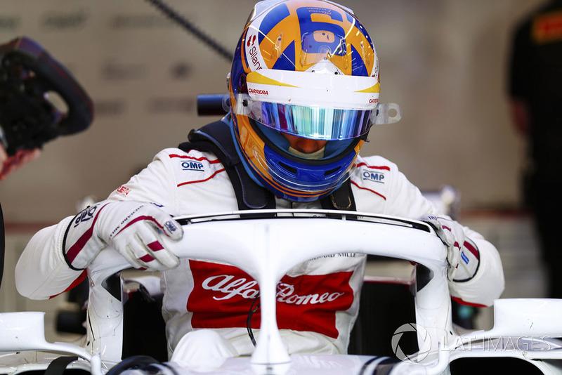 11 місце — Маркус Ерікссон, Sauber. Умовний бал — 9,06