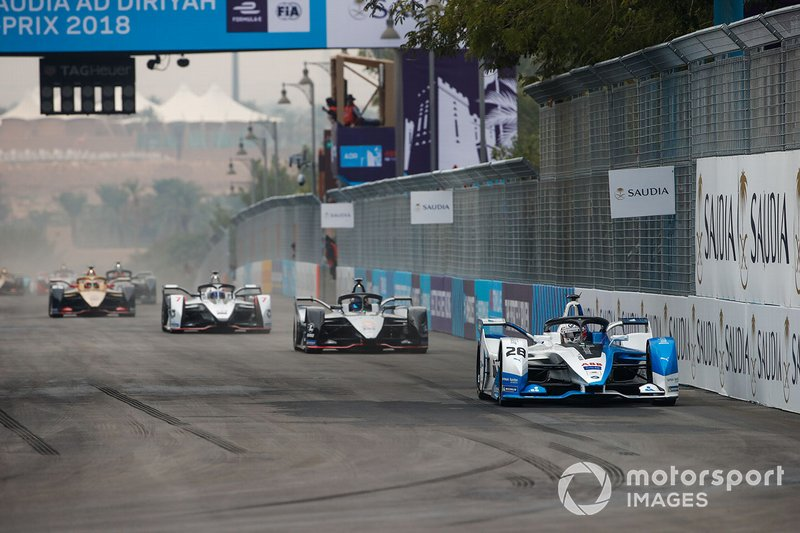 Antonio Felix da Costa, BMW I Andretti Motorsports, BMW iFE.18 Sébastien Buemi, Nissan e.Dams, Nissan IMO1, Jose Maria Lopez, GEOX Dragon Racing, Penske EV-3