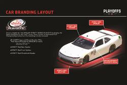 Imagen en auto para la NASCAR XFINITY