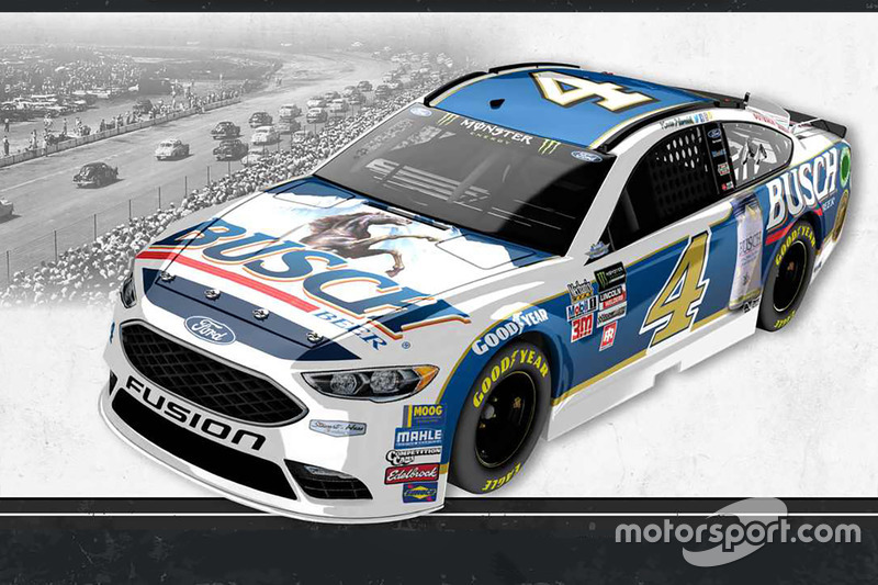 Throwback-Design: Kevin Harvick, Stewart-Haas Racing Ford