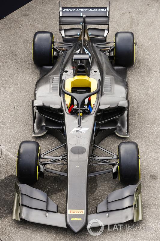 Nuevo coche 2018 de F2