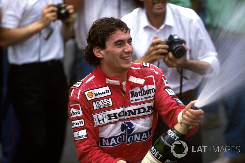 Ayrton Senna ganó en seis ocasiones el GP de Mónaco (1987, 1989, 1990, 1991, 1992 y 1993)