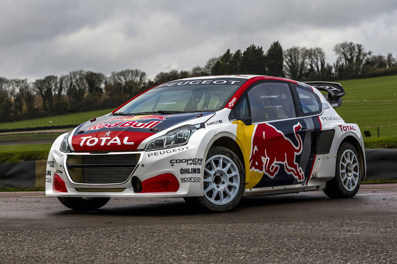 Team Peugeot Hansen car