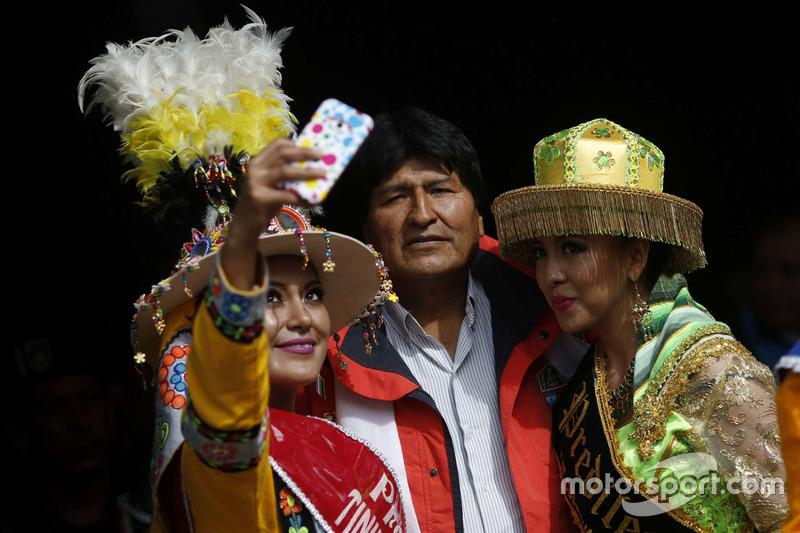 Bolivia president, Evo Morales