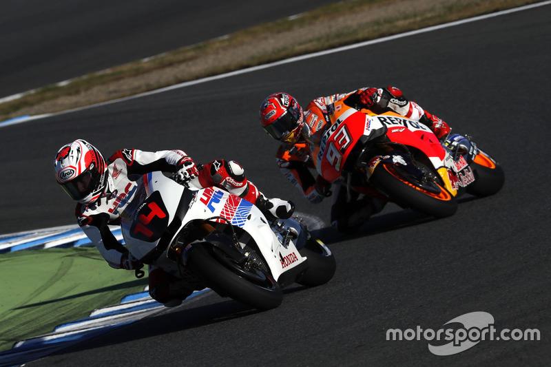 Fernando Alonso y Marc Marquez