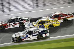 William Byron, Hendrick Motorsports Chevrolet; Kasey Kahne, Hendrick Motorsports Chevrolet; Austin Dillon, Richard Childress Racing Chevrolet