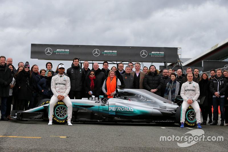 Präsentation: Mercedes W08