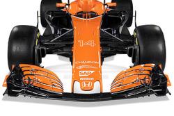 L'aileron avant de la McLaren MCL32