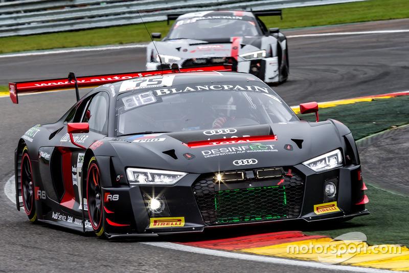#75 ISR Audi R8 LMS: Filipe Albuquerque, Clemens Schmid, Filip Salaquarda
