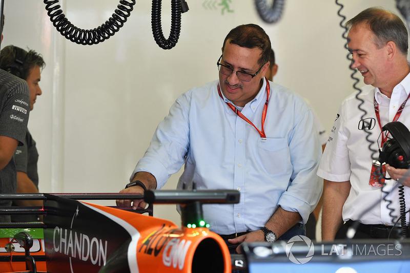 Шейх Мухаммед ібн Есса Аль Халіфа, генеральний директор ради з економічного розвитку Бахрейну та акціонер McLaren
