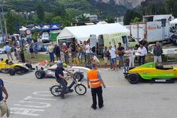 Tom Huwiler, Tatuus-Renault, Racing Club Airbag, Christophe Weber, Dallara-Opel Spiess, Ecurie des Ordons, and Stefan Boehler, Tatuus-Renault, Racing Club Airbag