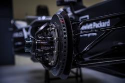DS Virgin Racing brake detail