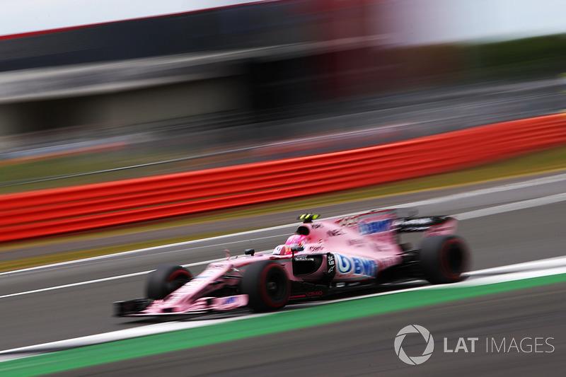 7. Esteban Ocon, Sahara Force India F1 VJM10