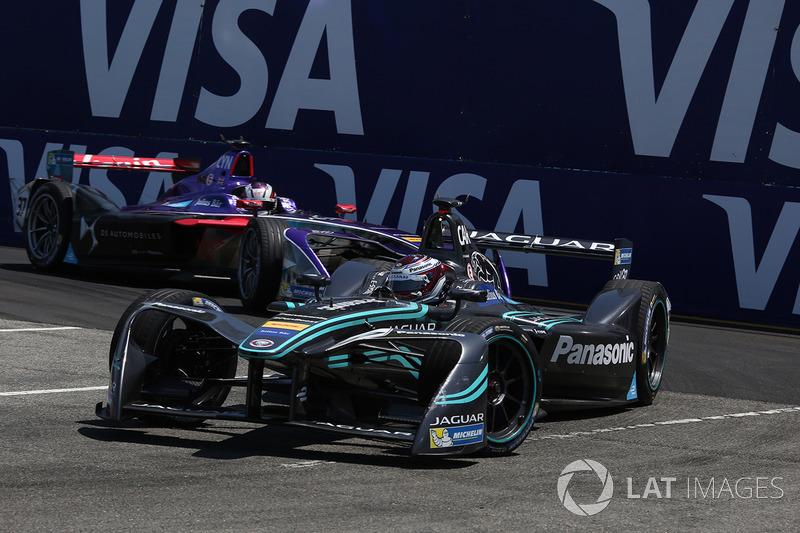 Adam Carroll, Jaguar Racing y Alex Lynn, DS Virgin Racing