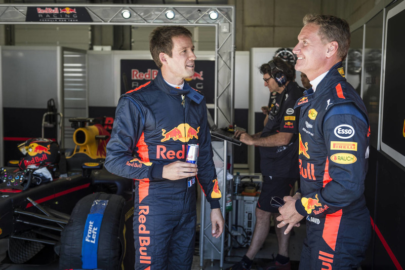 Себастьян Ож'є, Девід Култхард, Red Bull Racing