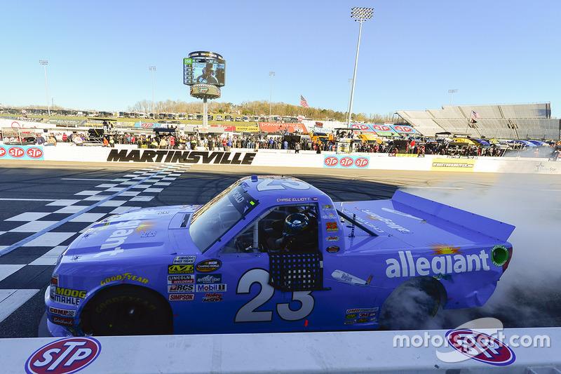 1. Chase Elliott, GMS Racing, Chevrolet
