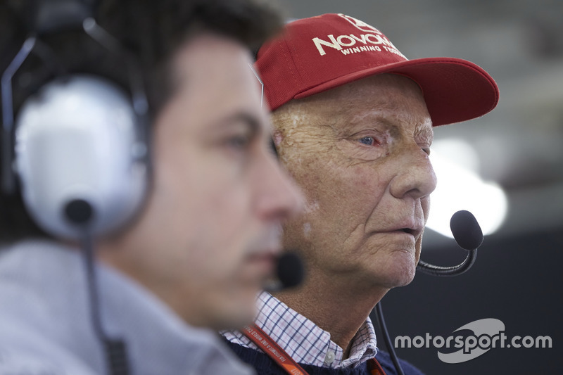 Niki Lauda, Mercedes AMG