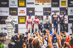 Podium: 3. Sébastien Ogier, Julien Ingrassia, Ford Fiesta WRC, M-Sport