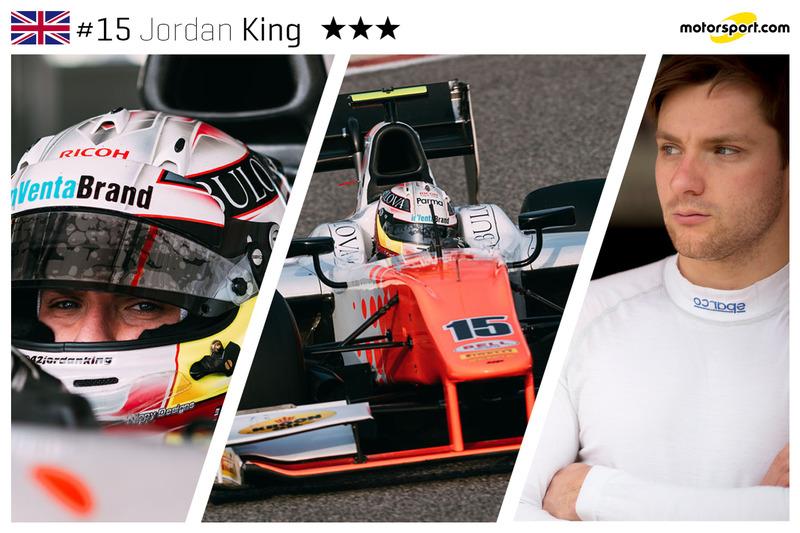 Jordan King - 23 ans
