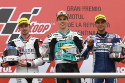 Podium: 1. Joan Mir, Leopard Racing; 2. John McPhee, British Talent Team; 3. Jorge Martin, Del Conca Gresini Racing Moto3