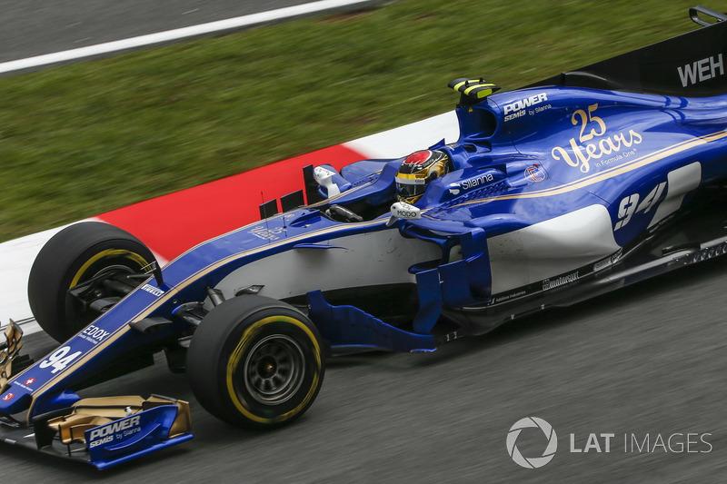 Pascal Wehrlein, Sauber: 10