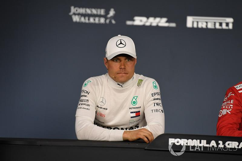 Valtteri Bottas, Mercedes-AMG F1 in the Press Conference
