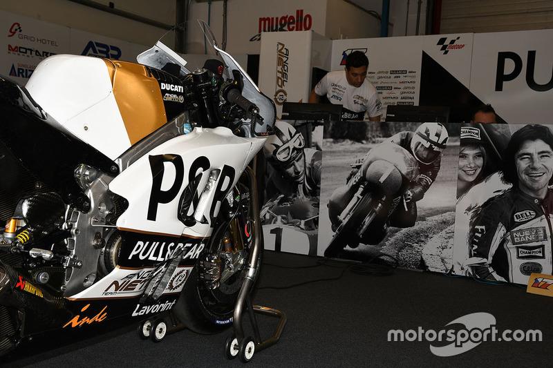 Aspar Racing bike