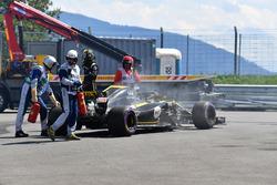 Nico Hulkenberg, Renault Sport F1 Team R.S. 18 retires from the race