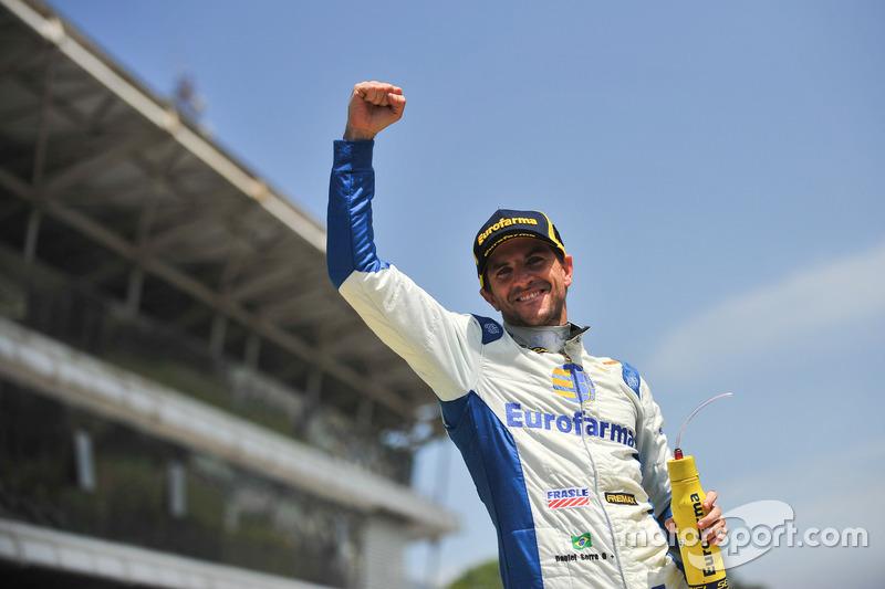 Com a terceira posição, Daniel Serra conquistou o primeiro título da carreira.