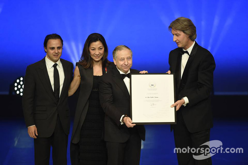 Jean Todt con Jean Charles Decaux