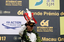 Podium: Derde plaats Raffaele Marciello, Mercedes-AMG Team GruppeM Racing, Mercedes - AMG GT3