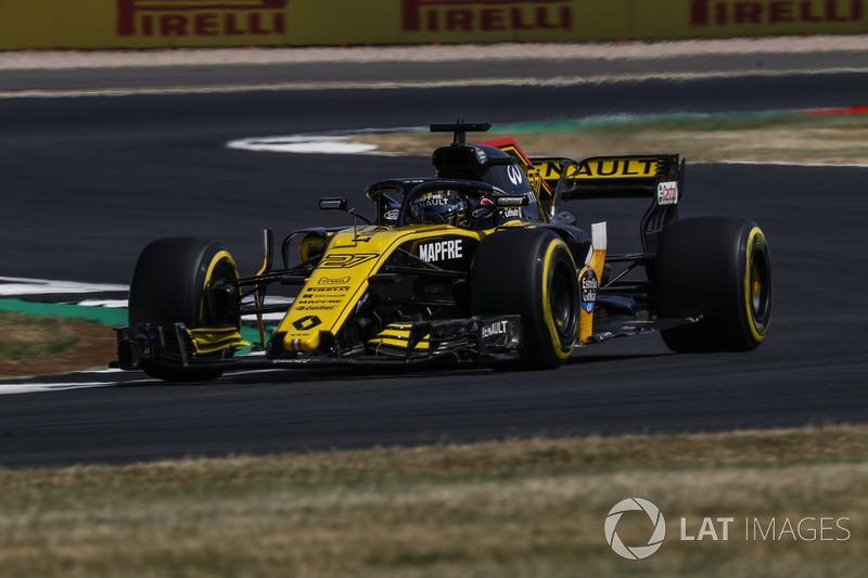 9. Nico Hulkenberg, Renault Sport F1 Team R.S. 18