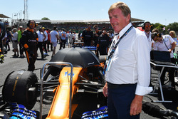 Sir Kenny Daglish, on the grid