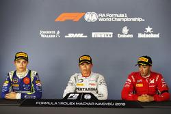 Lando Norris, Carlin, Nyck De Vries, PREMA Racing, And Antonio Fuoco, Charouz Racing System