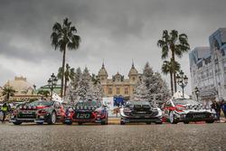 2018 WRC cars group photo