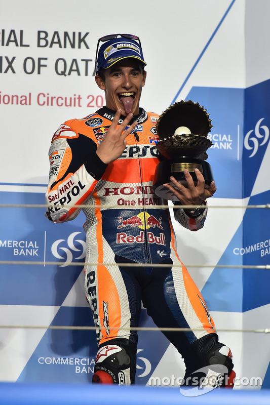 Podium: 3. Marc Marquez, Repsol Honda Team, Honda
